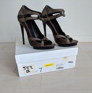 Brand New Balenciaga Sandal Pelle S.Cuoio Heels